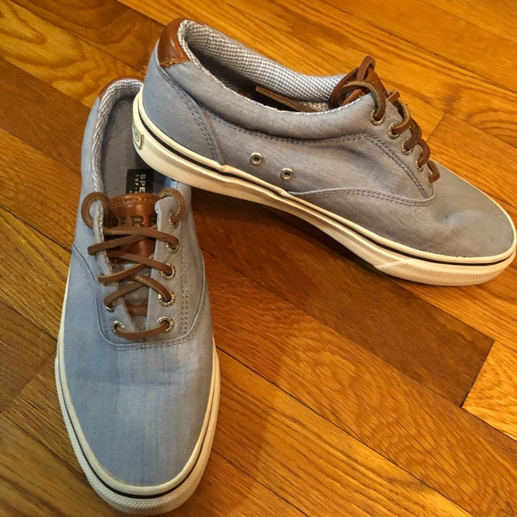 SPERRY MEN CUTTER CVO LACE UP SHOE 7M OLIVE